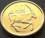 Moneda exotica 10 THEBE - BOTSWANA, anul 2013 *cod 469 - UNC DIN SET NUMISMATIC