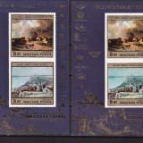 Ungaria 1976  pictura  MI  bl.117A+B  dant.si nedantelat   MNH  w50, Nestampilat