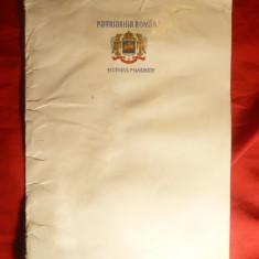 Diploma de Pelerin - semnata de Patriarhul Daniel , in mapa originala