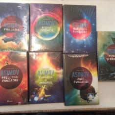 FUNDATIA ISAC ASIMOV,SET COMPLET-7 VOLUME