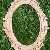 Ramă oglinda 40cm x 63cm lemn de fag, fac şi la comanda, culoare la alegere