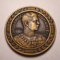 Medalie Regele Carol II Centenarul Renasterii Infanteriei Romane 1930 Lavrillier - Medalii Romania