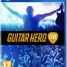 Guitar hero LIVE - PS4 [Second hand] fm - Jocuri PS4, Board games, 18+, Single player