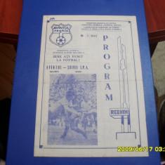 Program          Avintul  Reghin  -  Soimii IPA  Sibiu