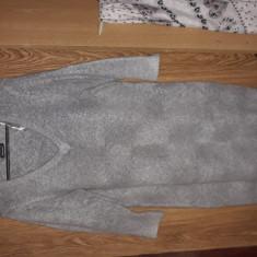 Rochie lana - Rochie tricotate, Culoare: Gri, Marime: M