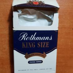 ambalaj tigari rothmans din anii '70-'80 - de colectie
