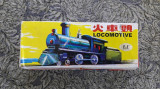 LOCOMOTIVA MADE IN CHINA , JUCARIE ANII 80 .