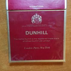 Ambalaj tigari dunhill din anii '70 -'80 - de colectie - Pachet tigari