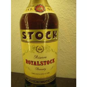 brandy Stock  vvsop, riserva royalstock, cl.75 gr. 40 ani 60