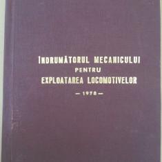 Indrumatorul mecanicului pt expl locomotivelor 060-ea 1978