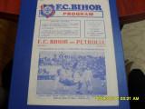 Program            FC  Bihor   -  Petrolul  Pl.