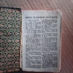 Noul Testament cu psalmii si doua harti , 1929 , Cornilescu