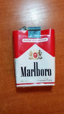 ambalaj tigari marlboro din anii '70 -'80  - de colectie foto