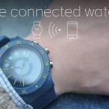 Smartwatch Ceas Ceas Cogito Pop albastru  - compatibil Android si iPhone iOS, Otel inoxidabil, 42mm, watchOS