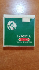 "ambalaj tigari export ""A"" din anii '40 - de colectie foto"