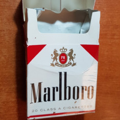 ambalaj tigari marlboro din anii '70-'80 - de colectie
