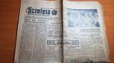 Ziarul scanteia 2 noiembrie 1961-localitatile vulturesi si voinesti din jud.iasi
