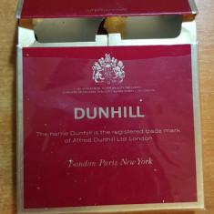 Ambalaj tigari dunhill din anii '70-'80 - de colectie - Pachet tigari