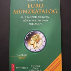 Catalog EURO monede Battenberg. Toate statele, monede, monetarii, editii