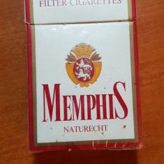 Ambalaj tigari memphis din anii '70 -'80 - de colectie - Pachet tigari