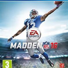 MADDEN NFL 16 - PS4 [Second hand] - Jocuri PS4, Sporturi, 18+, Multiplayer