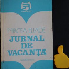 Jurnal vacanta mircea eliade - Roman