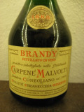 BRANDY CARPENE MALVOLTI, MAI MULTI 5 ANI,  cL 75 gr. 43 ANI 70