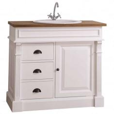 Mască lavoar baie cu sertare Leon