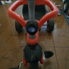 Tricicleta rosie - Tricicleta copii Smart Trike