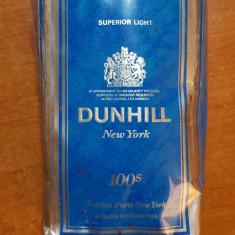 Ambalaj tigari dunhill new york din anii '70-'80 - de colectie - Pachet tigari
