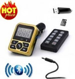 Car Kit Modulator Fm Auto Bluetooth Handsfree , Usb, Mp3