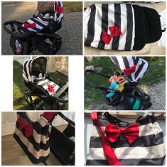 Vând cărucior Cosatto - Carucior copii 2 in 1 Cosatto, Negru
