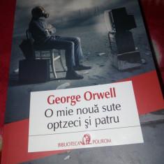 George Orwell - 1984, nou-nouta. - Roman