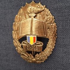 Insigna Alma Mater - Academia militara - student