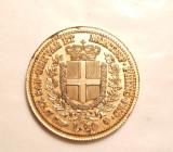 ITALIA 20 LIRE 1859 REPLICA AURUTA, Europa