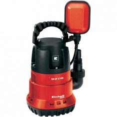Pompa submersibila pentru apa curata Einhell GH-SP 2768, 270 W, 6800 l/h