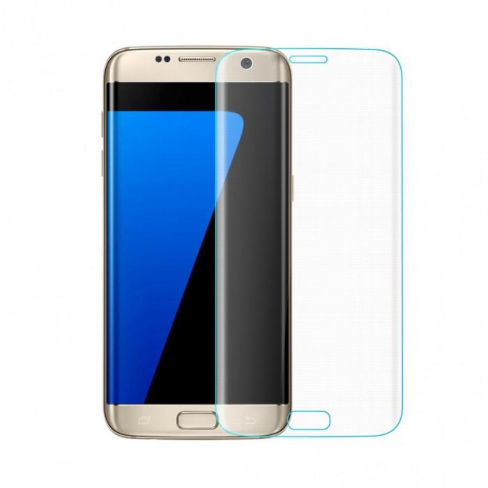 Folie sticla curbata Samsung Galaxy S7 Edge (Full Face ) transparenta