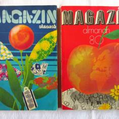 ALMANAH MAGAZIN 1978 si 1980. Carti noi