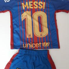 Echipament fotbal copii FC.Barcelona Messi nou marimi mici 1-3 ani, Marime: Alta