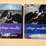 CORINA SAVU- Aripi smulse - vol .1 & 2 (ed. Smart Publishing) thriller romance