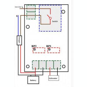 Controler incarcare baterie 12V