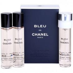 Chanel Bleu de Chanel eau de toilette pentru barbati 3 x 20 ml rezerva