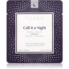 FOREO UFO™ Call It a Night mască de noapte pentru revitalizarea și reînnoirea pielii cu efect de nutritiv - Masca fata