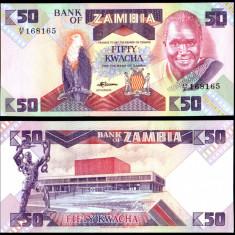 Zambia 1986 - 50 kwacha UNC