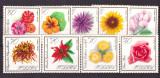 Polonia 1966 - flori, serie neuzata