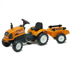 Tractor cu Pedale si Remorca Renault Celtis 436RX Falk