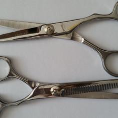 Set kit foarfece foarfeca tuns filat Jaguar frizerie coafor par salon NOI