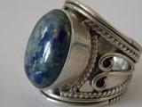 Inel argint cu lapis lazuli -4054