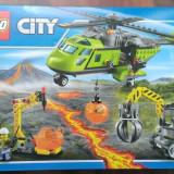 Lego City 60123 original -Elicopter de aprovizionare - nou, sigilat