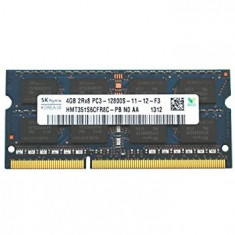 Memorie Laptop SODIMM SKhynix 4GB DDR3 PC3-12800S 1600Mhz APPLE 1.5V - Memorie RAM laptop
